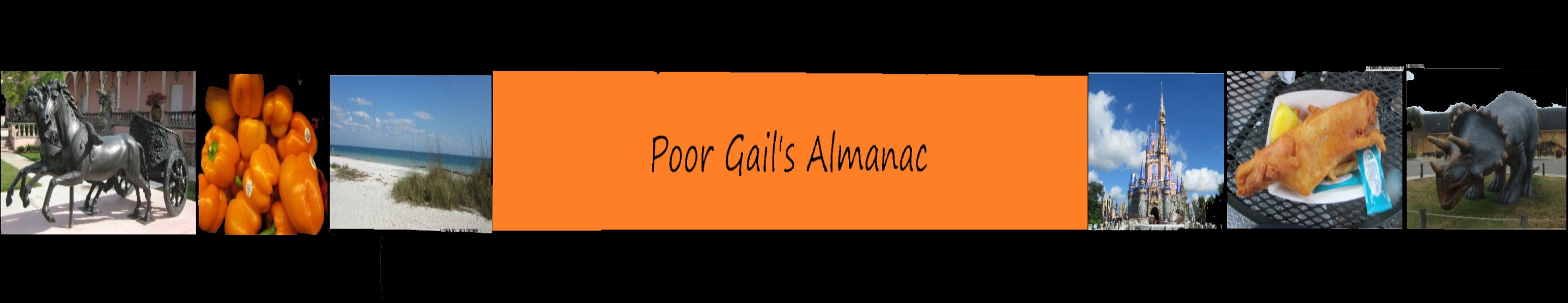 Poor Gail's Almanac
